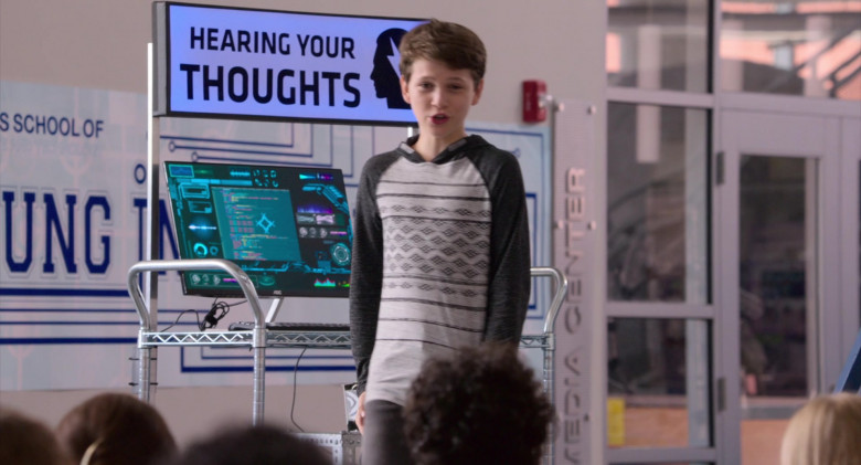 AOC Monitor Used by Gabriel Bateman in Think Like a Dog (2020)