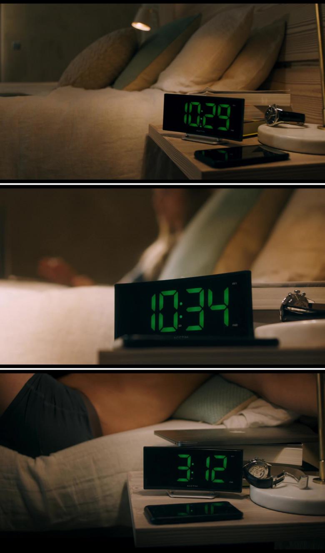 Acctim Alarm Digital Clock in You Should Have Left (2020)