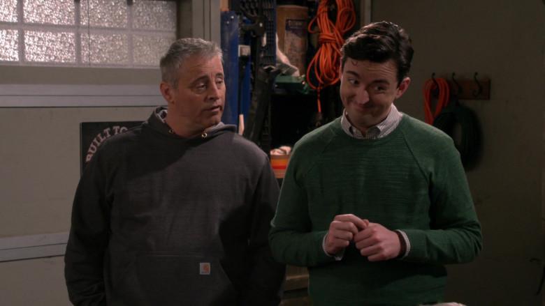 Actor Matt LeBlanc as Adam Wearing Carhartt Hoodie in Man with a Plan Season S04E12 TV Series (2)