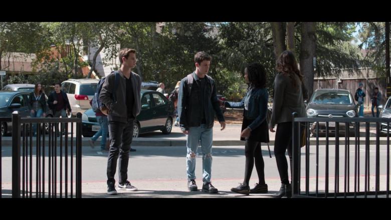 Actor Wearing Jacket, Jeans & Nike Sneakers in 13 Reasons Why S04E01 Winter Break (2020)