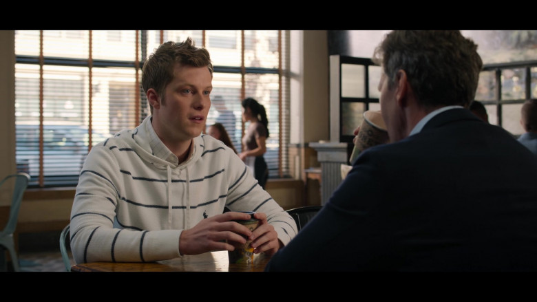 Actor Wearing Ralph Lauren Hoodie in 13 Reasons Why S04E09 Prom (2020)