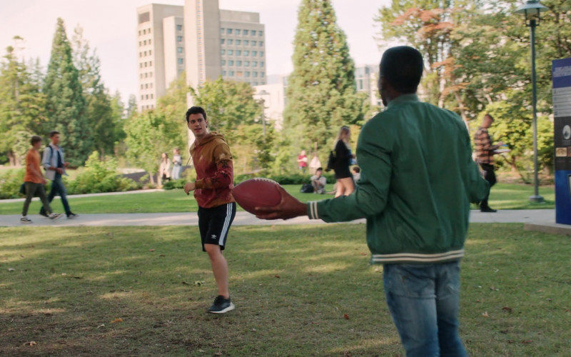 Actor Wears Adidas Men's Shorts in The Order S02E01 Free Radicals, Part 1 (2020)
