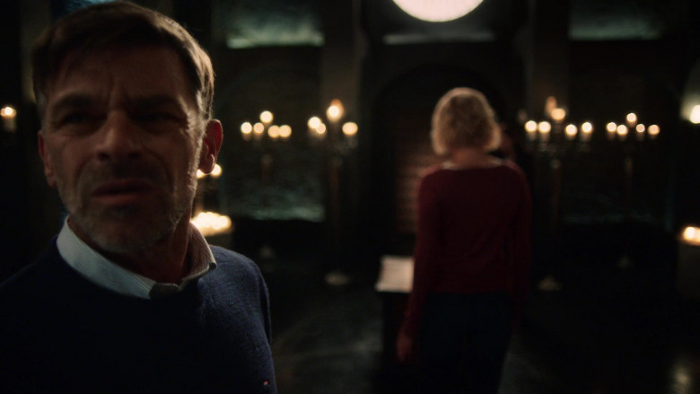 Actor Wears Tommy Hilfiger Men's Sweater in The Order S02E01 (1)