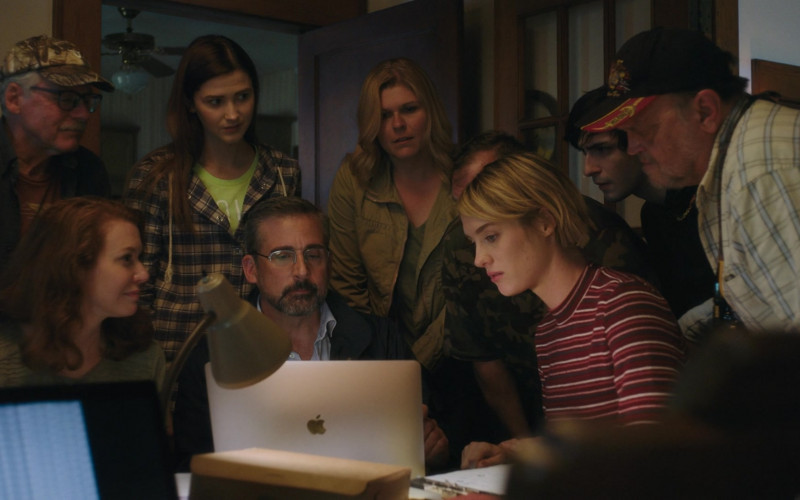 Actors Using Apple MacBook Laptop in Irresistible Movie