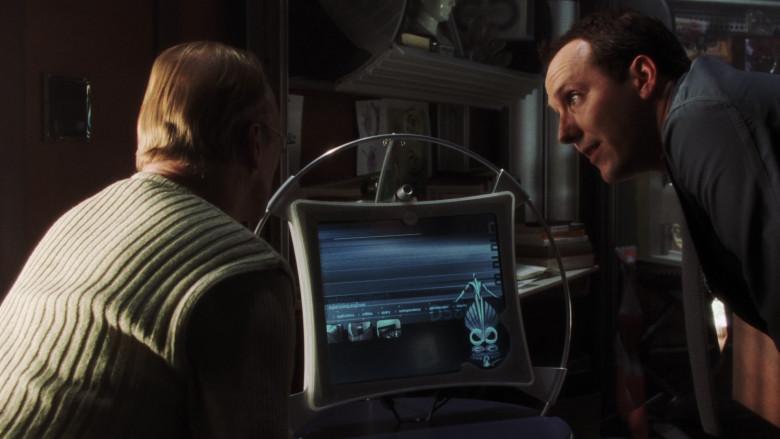 Actors Using Dell Futuristic Monitor in A.I. Artificial Intelligence Monitor (1)