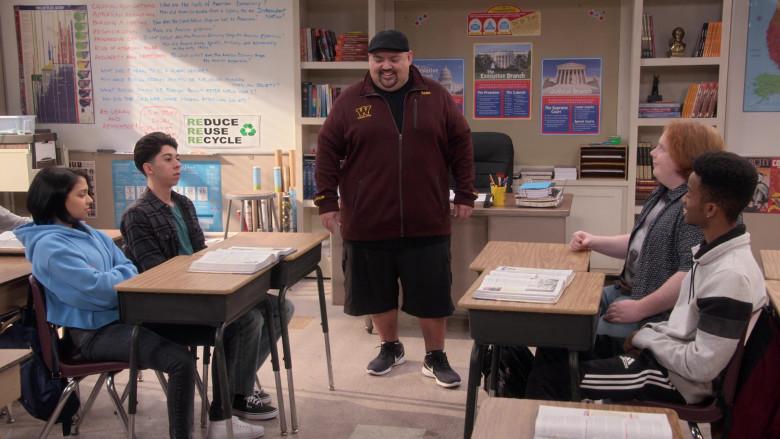 Adidas Black Track Pants Worn by Coy Stewart as Lorenzo in Mr. Iglesias S02E06