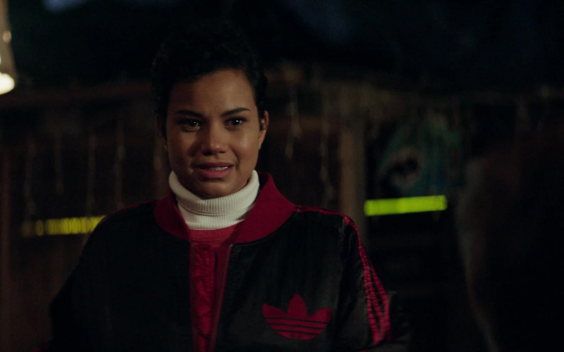 Adidas Bomber Jacket Worn by Michele Weaver as Luly in Council of Dads S01E07 (1)