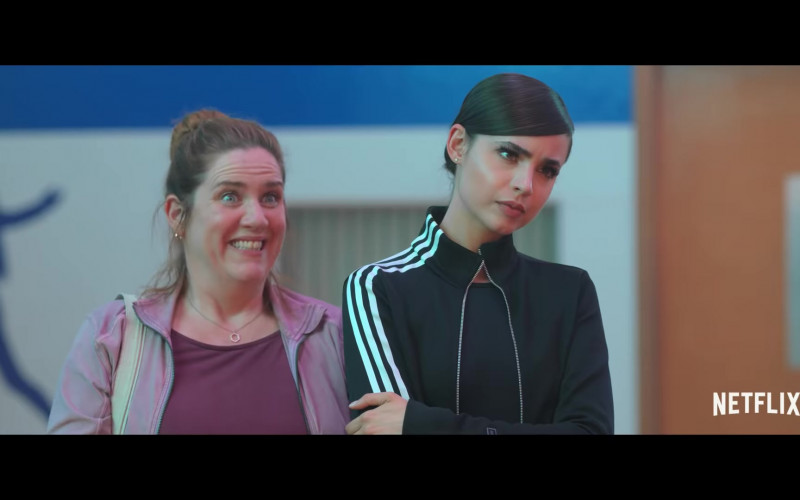 Adidas Jacket Outfit Worn by Sofia Carson in Feel the Beat Movie (1)