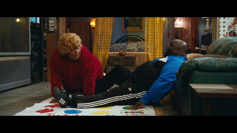 Adidas Outfit and Black Sneakers of Faizon Love in Big Mommas Like Father, Like Son Movie (3)