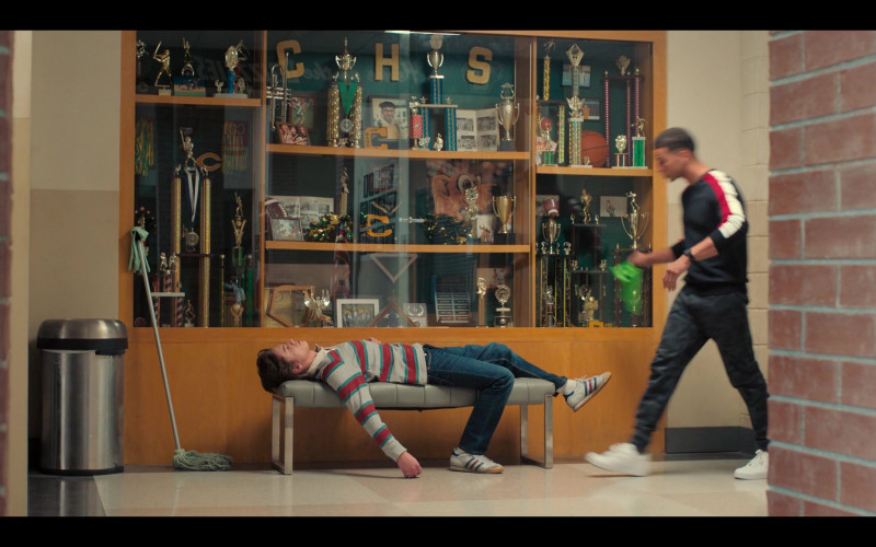 Adidas Shoes of Anthony Turpel as Felix in Love, Victor S01E08 (1)