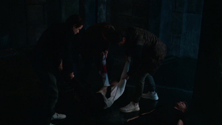 Adidas Ultraboost Men's White Sneakers in The Order S02E08 TV Show (1)