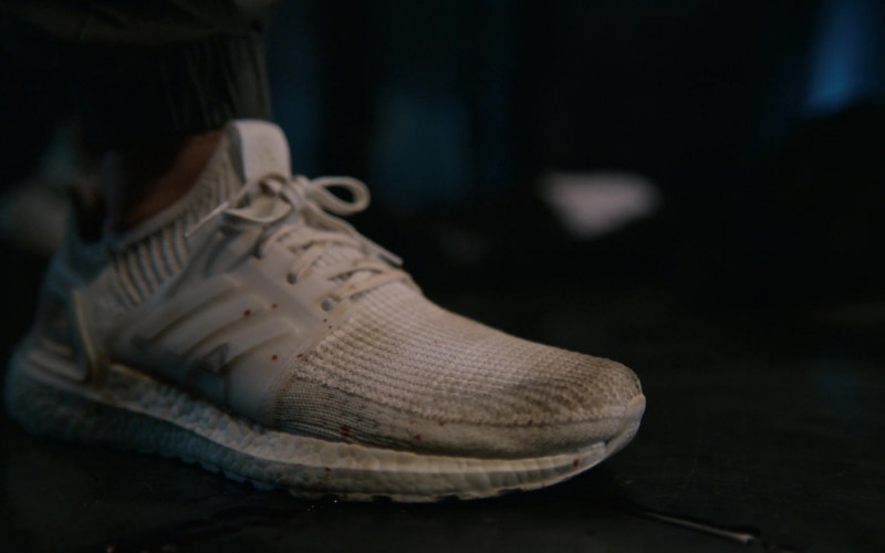 Adidas Ultraboost Men's White Sneakers in The Order S02E08 TV Show (2)