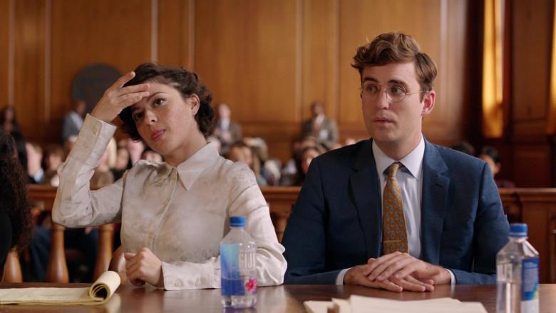 Alia Shawkat & John Paul Reynolds Drinking Fiji Water in Search Party S03E07 TV Series (1)