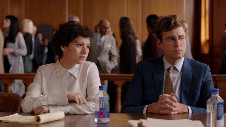 Alia Shawkat & John Paul Reynolds Drinking Fiji Water in Search Party S03E07 TV Series (2)
