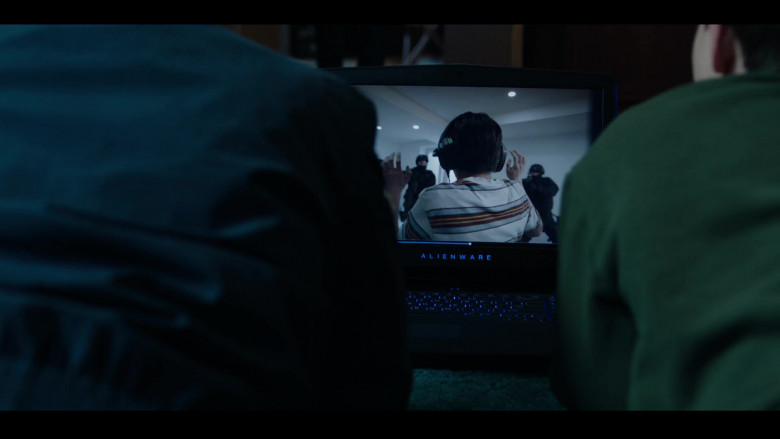 Alienware Laptop in Condor S02E01 Exile Is a Dream (2020)