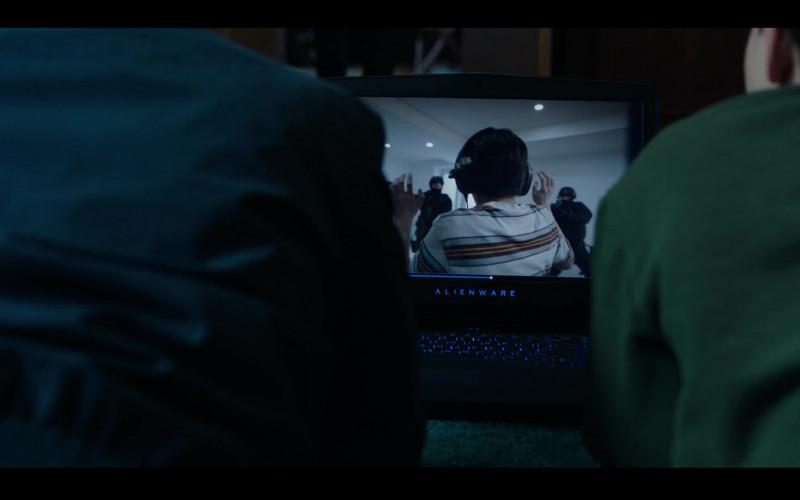 Alienware Laptop in Condor S02E01 Exile Is a Dream (2020)