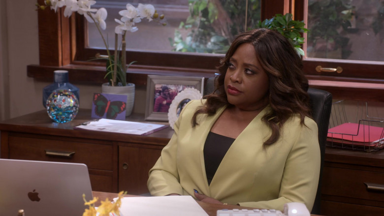 Apple MacBook Laptop Used by Sherri Shepherd as Paula Madison in Mr. Iglesias S02E04 (1)