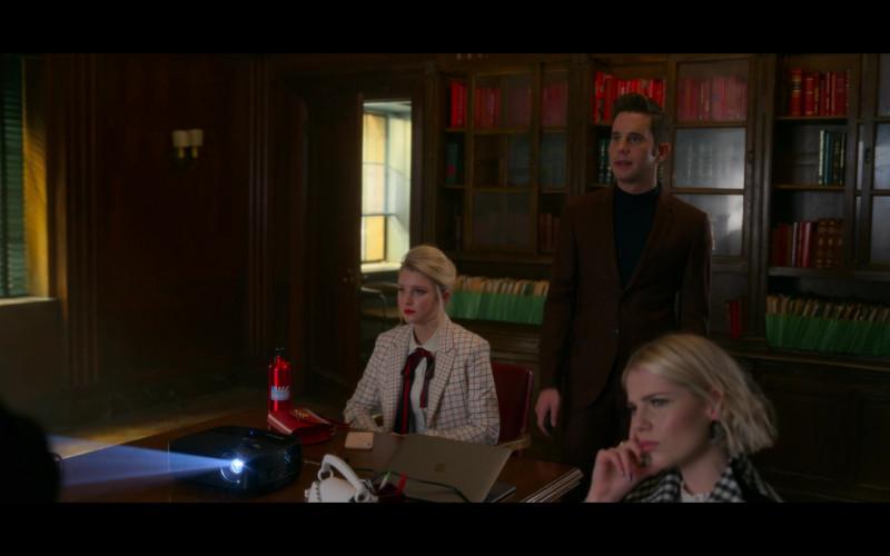 Apple MacBook Laptop in The Politician Season 2 Episode 3 TV Show by Netflix