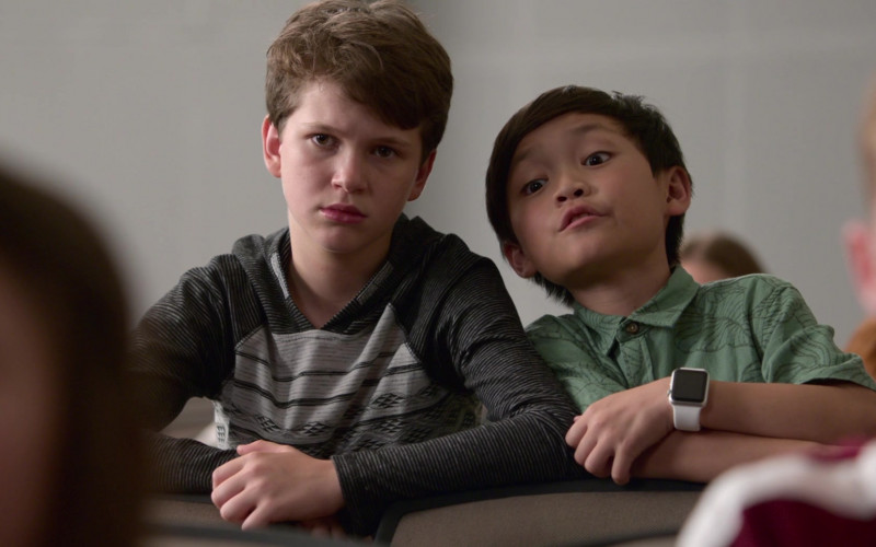 Apple Watch of Izaac Wang in Think Like a Dog Film (1)