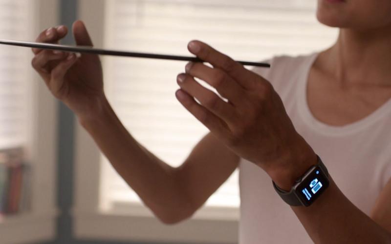 Apple Watch of Julia Jones in Think Like a Dog (2020)