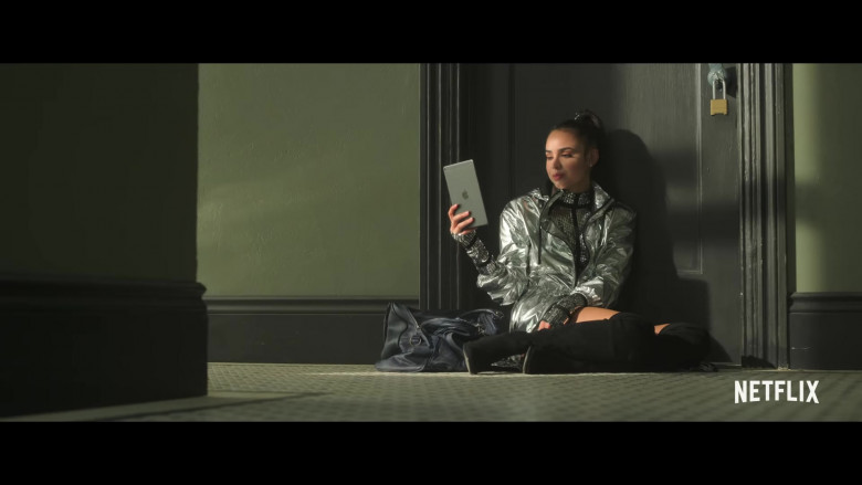 Apple iPad Tablet Used by Sofia Carson in Feel the Beat (1)