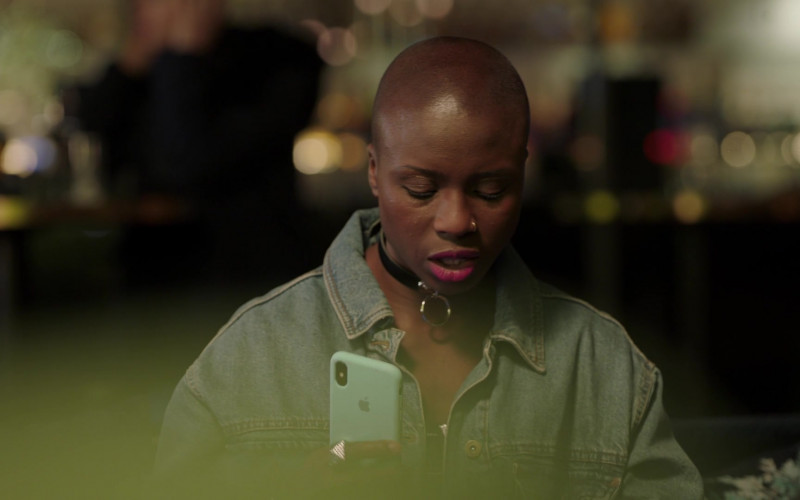 Apple iPhone Smartphone Used by Ann Akin as Alissa in I May Destroy You S01E01