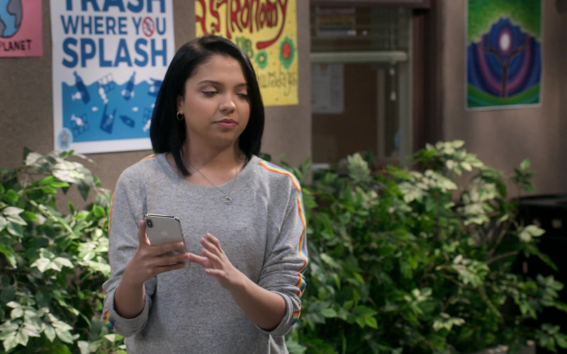 Apple iPhone Smartphone Used by Cree Cicchino as Marisol Fuentes in Mr. Iglesias S02E04