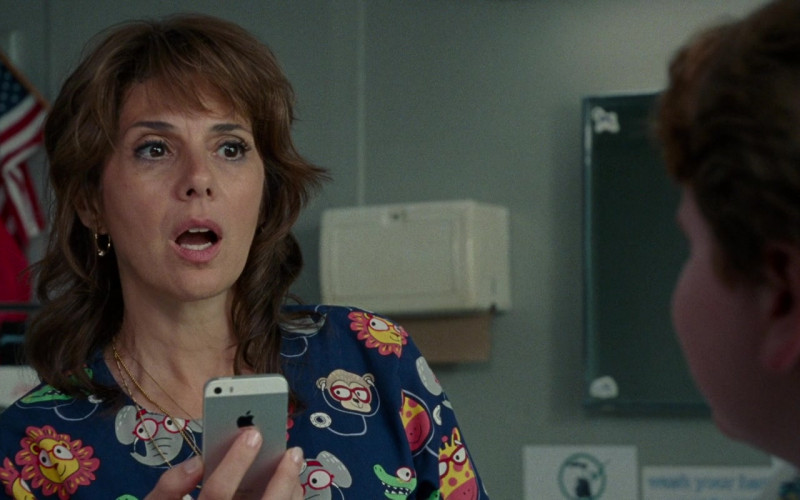 Apple iPhone Smartphone Used by Marisa Tomei in The King of Staten Island Movie (2)
