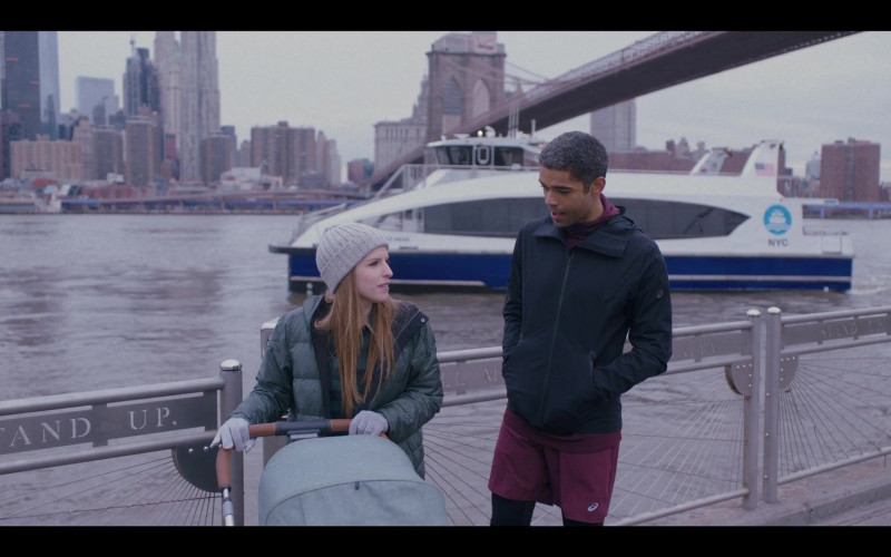 Asics Jacket and Shorts Worn by Kingsley Ben-Adir as Grant in Love Life S01E10 TV Series