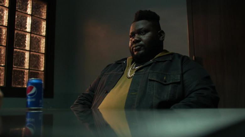 Atkins Estimond as Osito Drinks Pepsi Soda in Hightown Season 1 Episode 6 TV Show