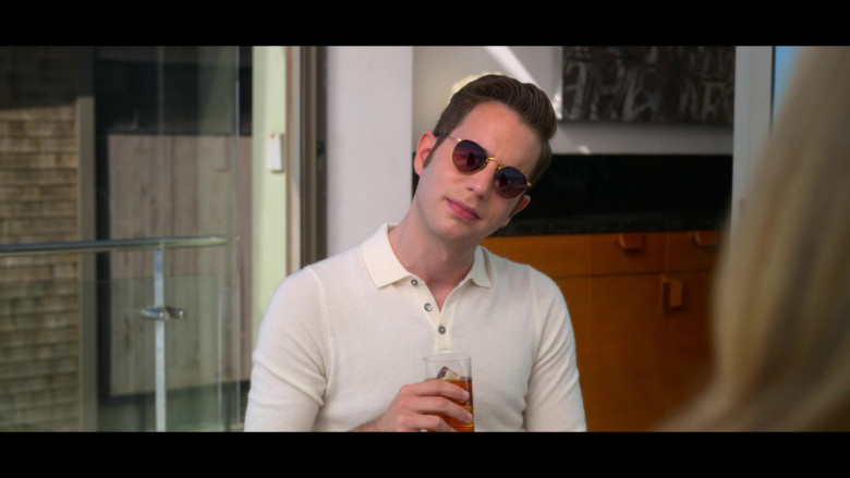 Ben Platt as Payton Hobart Wears Ray-Ban Round Sunglasses in The Politician Season 2 Episode 1 TV Show (2)