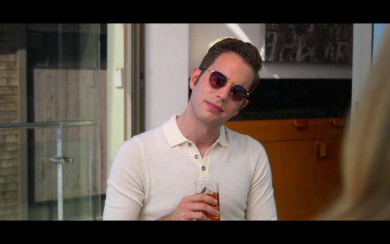 Ben Platt as Payton Hobart Wears Ray-Ban Round Sunglasses in The Politician Season 2 Episode 1 TV Show (2)