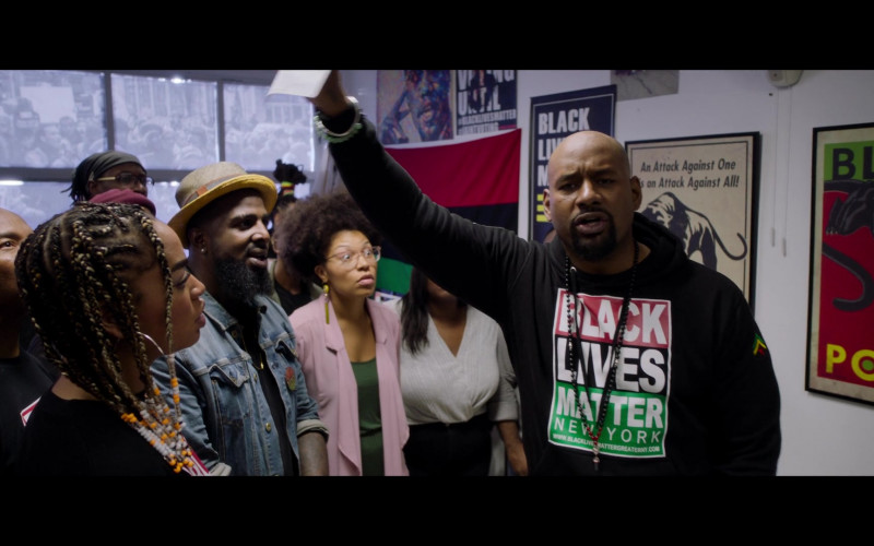 Black Lives Matter Activist Organization in Da 5 Bloods Netflix Movie (2)