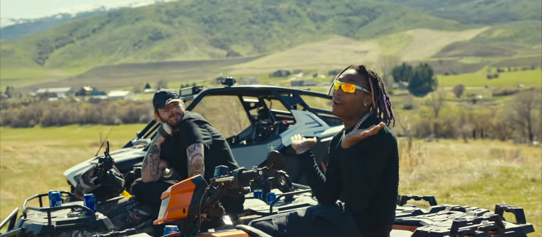 Bud Light Beer Enjoyed by Tyla Yaweh and Post Malone in Tommy Lee 2020 Music Video (1)