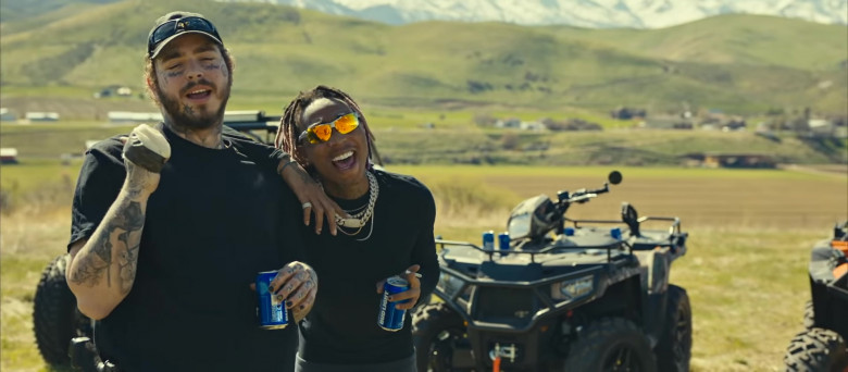 Bud Light Beer Enjoyed by Tyla Yaweh and Post Malone in Tommy Lee 2020 Music Video (12)