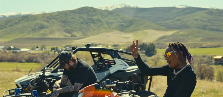 Bud Light Beer Enjoyed by Tyla Yaweh and Post Malone in Tommy Lee 2020 Music Video (2)