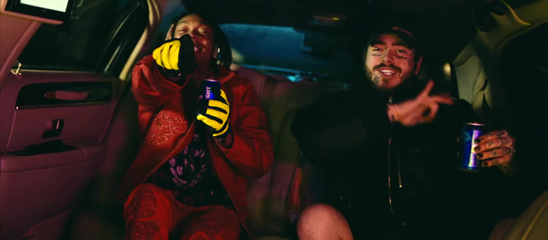Bud Light Beer Enjoyed by Tyla Yaweh and Post Malone in Tommy Lee 2020 Music Video (3)