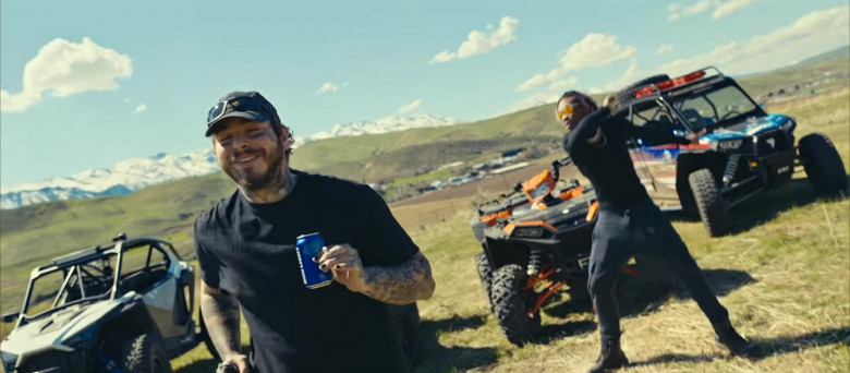 Bud Light Beer Enjoyed by Tyla Yaweh and Post Malone in Tommy Lee 2020 Music Video (6)
