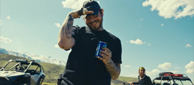Bud Light Beer Enjoyed by Tyla Yaweh and Post Malone in Tommy Lee 2020 Music Video (8)