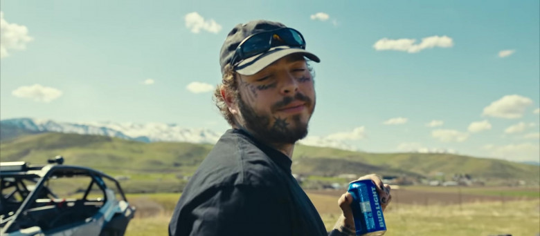Bud Light Beer Enjoyed by Tyla Yaweh and Post Malone in Tommy Lee 2020 Music Video (9)