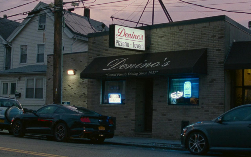 Bud Light Neon Signs in The King of Staten Island (2020)
