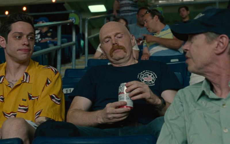 Budweiser Beer Enjoyed by Bill Burr in The King of Staten Island (2020)