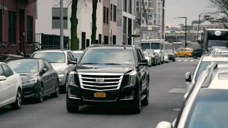 Cadillac Escalade Black Car in Search Party S03E02