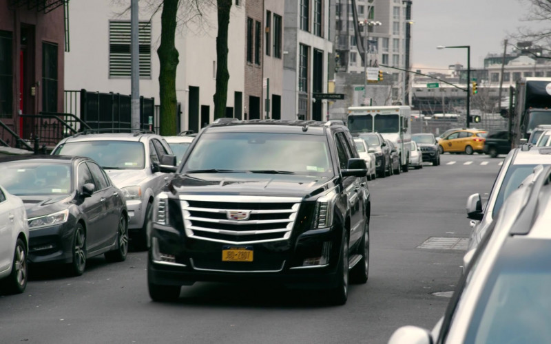 Cadillac Escalade Black Car in Search Party S03E02