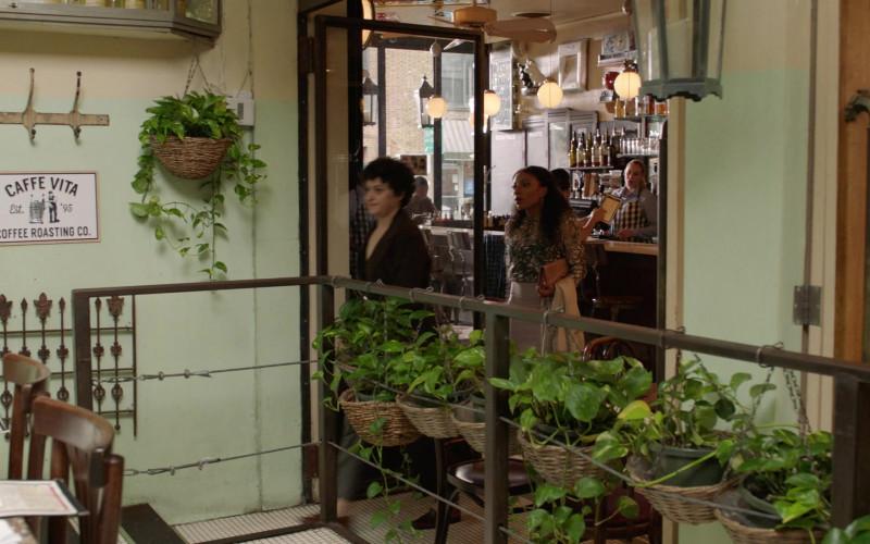 Caffé Vita Coffee Roasting Company in Search Party S03E05 TV Show