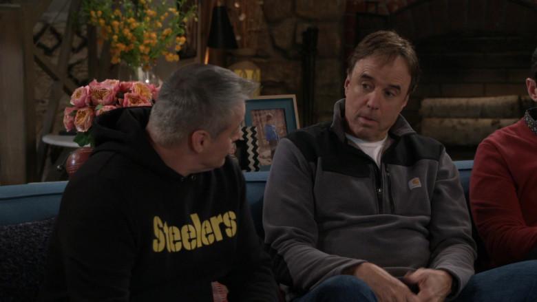 Carhartt Half Zip Fleece Jacket Worn by Kevin Nealon in Man with a Plan S04E13 (1)