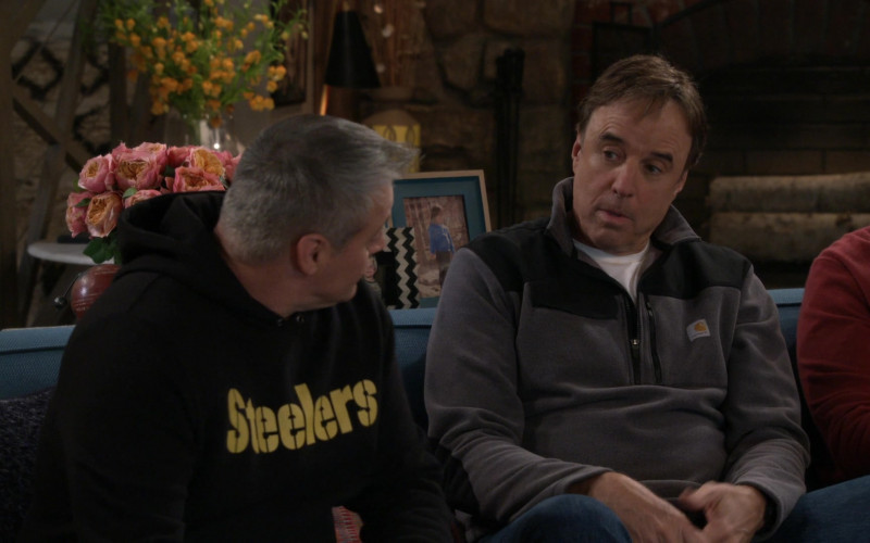 Carhartt Half Zip Fleece Jacket Worn by Kevin Nealon in Man with a Plan S04E13 (1)