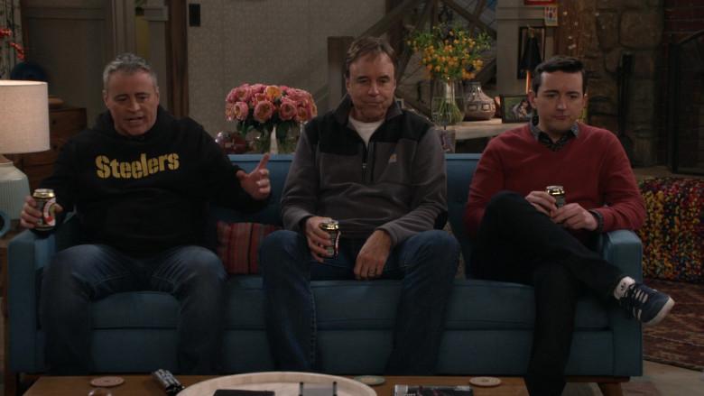 Carhartt Half Zip Fleece Jacket Worn by Kevin Nealon in Man with a Plan S04E13 (2)