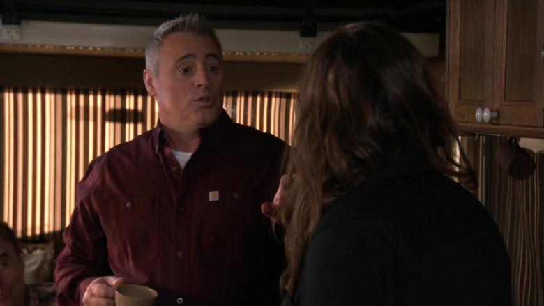 Carhartt Shirt of Matt LeBlanc as Adam Burns in Man with a Plan S04E13 (2)