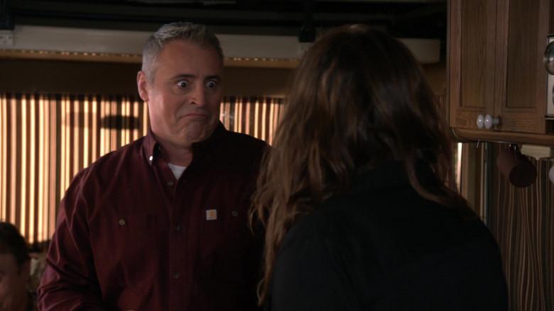 Carhartt Shirt of Matt LeBlanc as Adam Burns in Man with a Plan S04E13 (3)